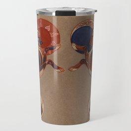 Geri and Freki Travel Mug