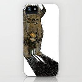 """""""mi montro"""" iPhone Case"""