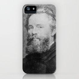Joseph Oriel Eaton -portrait of Herman Melville iPhone Case