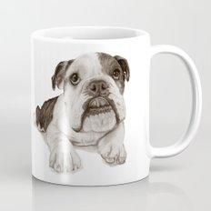 A Bulldog Puppy :: Brindle  Mug