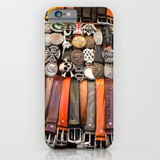 Italian leather belts, Florence market Slim Case iPhone 6s