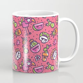 Frida Dreams Pink & Colors Coffee Mug