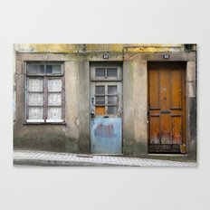 Portugal Doors 3 Canvas Print