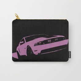 Autosport muscle car art print pink purple Carry-All Pouch