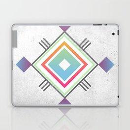 Abstract geometric indigenous symbol Laptop & iPad Skin