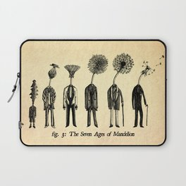 The Seven Ages of Mandelion Laptop Sleeve