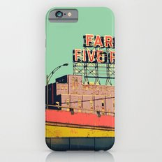 montréal vintage iPhone 6 Slim Case