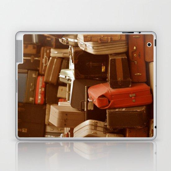 TOWER OF LUGGAGE Laptop & iPad Skin