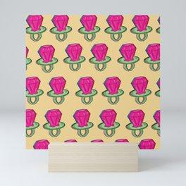 Ring Pop Pattern Mini Art Print