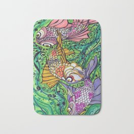 Three Little Fish Bath Mat
