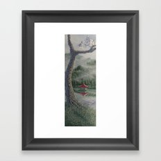 morgan's tree Framed Art Print