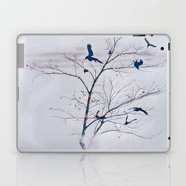 WHITEOUT/light grey Laptop & iPad Skin