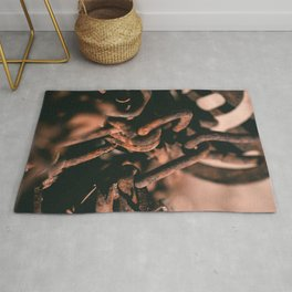 Rusting Chains Rug