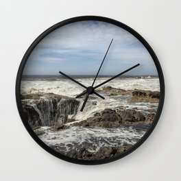 Thor's Well, No. 2 Wall Clock