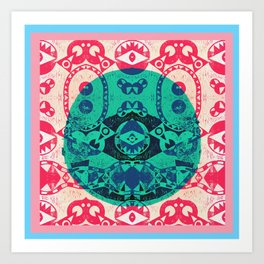 """El grito del Cyclope"" Art Print"