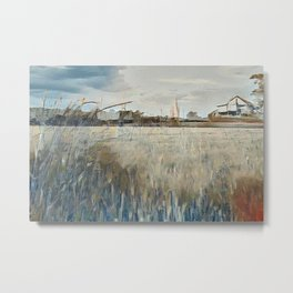"""The Farm"" Metal Print"