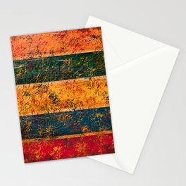 Stripes (Abstract) Stationery Cards
