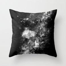 I'll wait for you black white version Throw Pillow