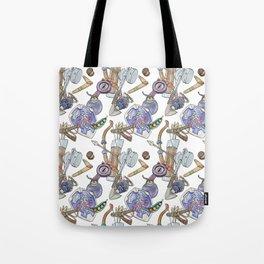 Ocarina Patterns Tote Bag