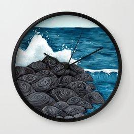 Shore Monster Wall Clock