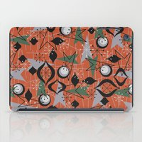mid century iPad Cases featuring Mid Century Atomic Arrow Patterns by Cherie