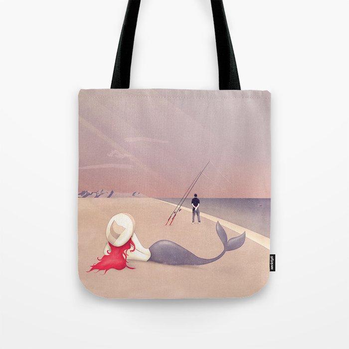 Keep Fishing Tote Bag