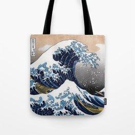 "Hokusai , "" The Great Wave off Kanagawa "" Tote Bag"