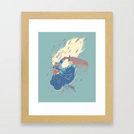 Princess Magical Butt Kicker Framed Art Print