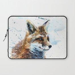 Fox watercolor Laptop Sleeve