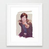 durarara Framed Art Prints featuring IZAYA by emvli