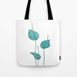 Adder's tongue fern painting Tote Bag