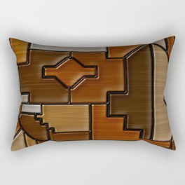 Woodwork Rectangular Pillow