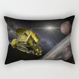New Horizons space probe - Pluto flyby Rectangular Pillow