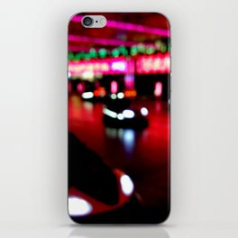 Bumper cars iPhone Skin