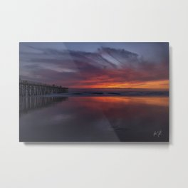 Sunrise Flagler Beach, Florida Metal Print