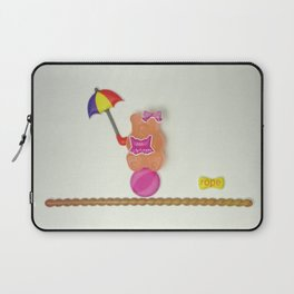 Sally on the tightrope Laptop Sleeve
