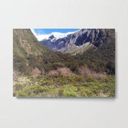 Untamed Wilderness New Zealand Metal Print