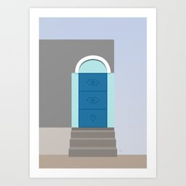 Doors of Oman #5 - Jebel Shams Art Print