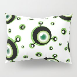 Justified Paranoia Green Pillow Sham
