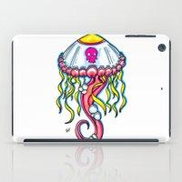 jelly fish iPad Cases featuring Jelly Fish by KillianPB