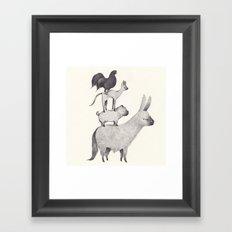 bremen Framed Art Print