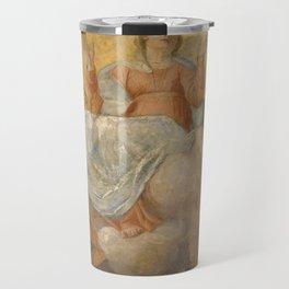 Annibale Carracci - Assumption of the Virgin (1604) Travel Mug