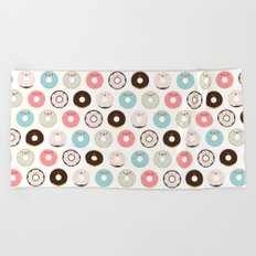 Super Sweet Donuts Beach Towel