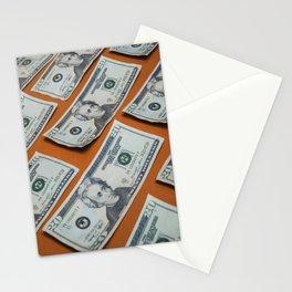 Money Pattern Stationery Cards