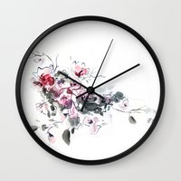 china Wall Clocks featuring China by tatiana-teni