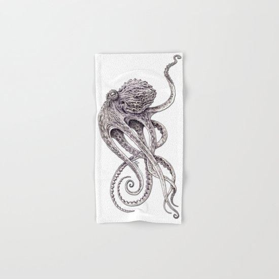 Cephalopod Hand & Bath Towel