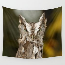 Screech to a halt Wall Tapestry