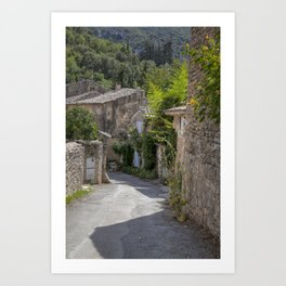 Village In Provence South Of France Art Print