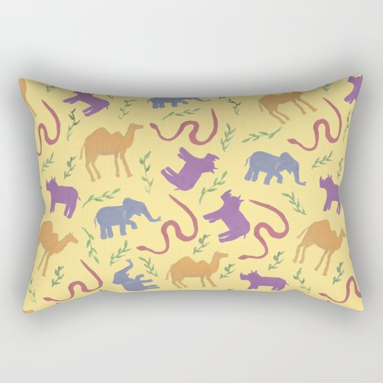 Animal colorfulness Rectangular Pillow
