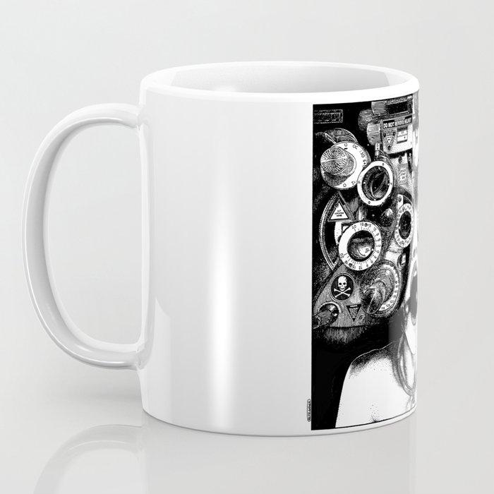 asc 712 - Le masque de la Méduse (Object woman) Kaffeebecher